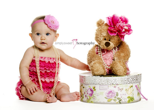 Teddy & Me | Winter Heaven Baby Photographer | by Simply Sweet Galleries