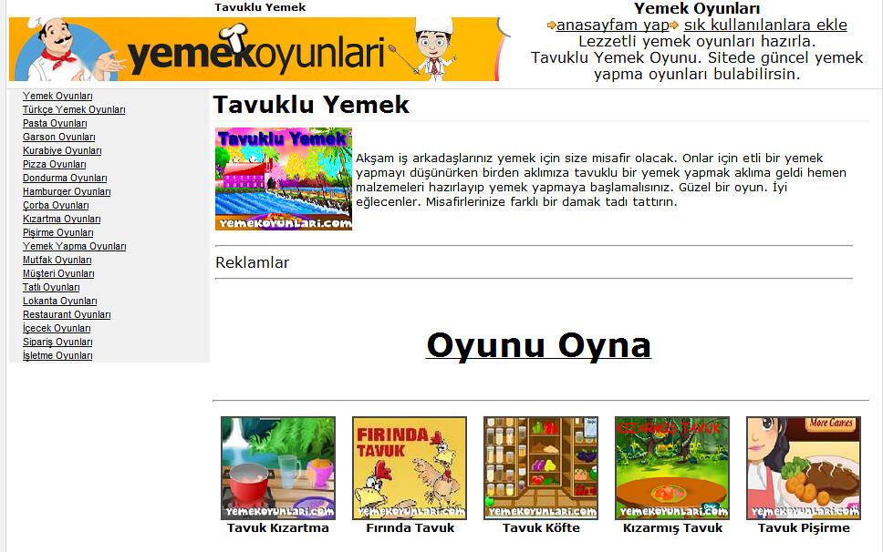 Tatlı Yapma Servis Oyunları Yemek Oyunları Türkçe Yemek Oy Flickr