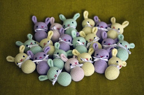 amigurumi bunnies | by perlinavichinga