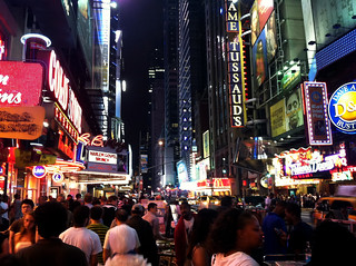Times Square/ 42nd Street, New York City, on a Saturday Night | by JFGryphon