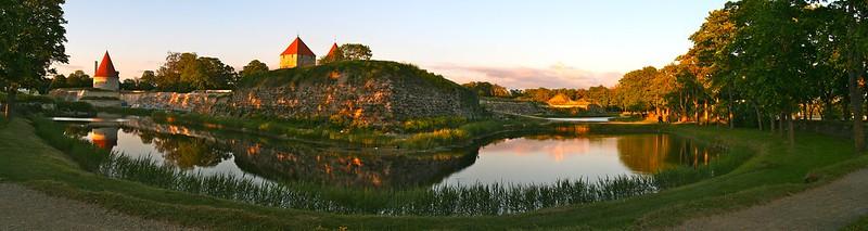 Kuressaare Castle Panorama