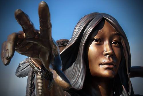 Sacagawea, Straight From the Salon | by Nancy D. Regan