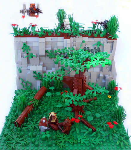 Ewoks - High Tech Warriors? | by .Bricko
