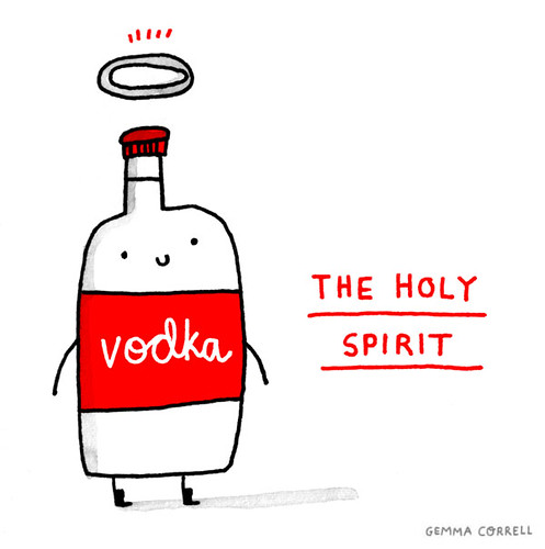 the holy spirit | by gemma correll
