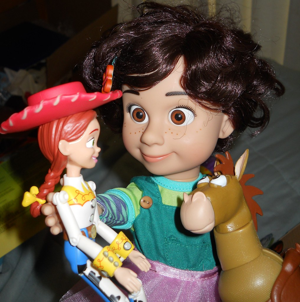 Toy Story Bonnie plays with Jessie and Bullseye  Can you fe  Flickr