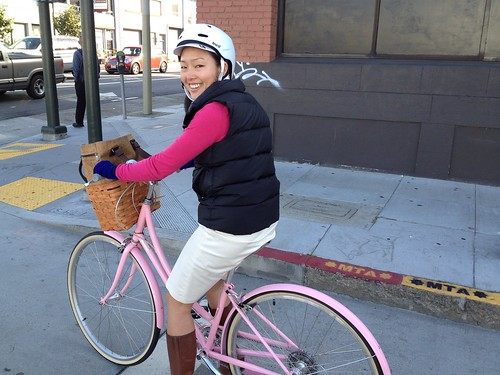 Supervisor Jane Kim on Bike to Work Day 2012 | by sfbike