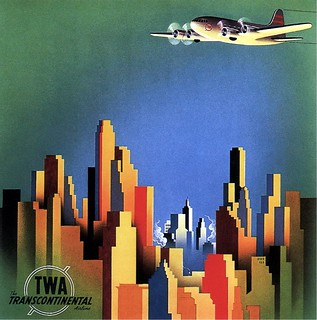 TWA, The Transcontinental Airline. 1940 | by kitchener.lord