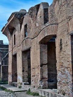Roman remains of the ancient port city of Ostia (HDR) | by mharrsch