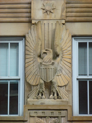 Buffalo, NY U. S. Court House eagle detail | by army.arch