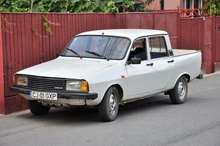 dacia 1307 double cabine a very nice and original first ge flickr. Black Bedroom Furniture Sets. Home Design Ideas