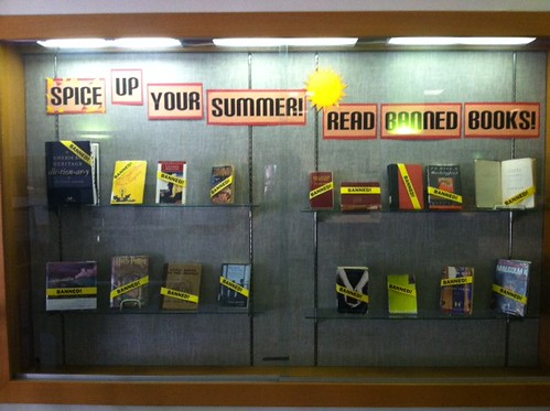 banned books | by Mills College Displays