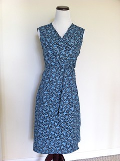 A Wrap Dress for me! | by Sew Spoiled