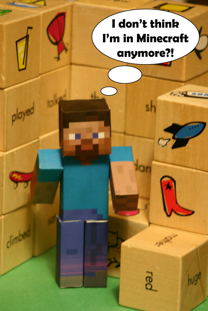 Minecraft Papercraft We Are Doing Papercraft In Tomorrows Flickr