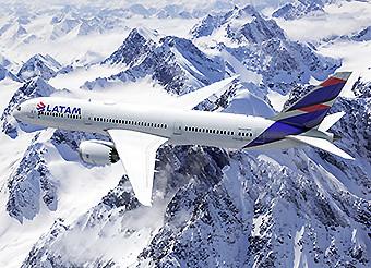 LATAM B787-9 Cordillera (LATAM)