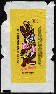 Luden's - Peter Bunny - delicious coated marshmallow - candy wrapper - 1970's | by JasonLiebig