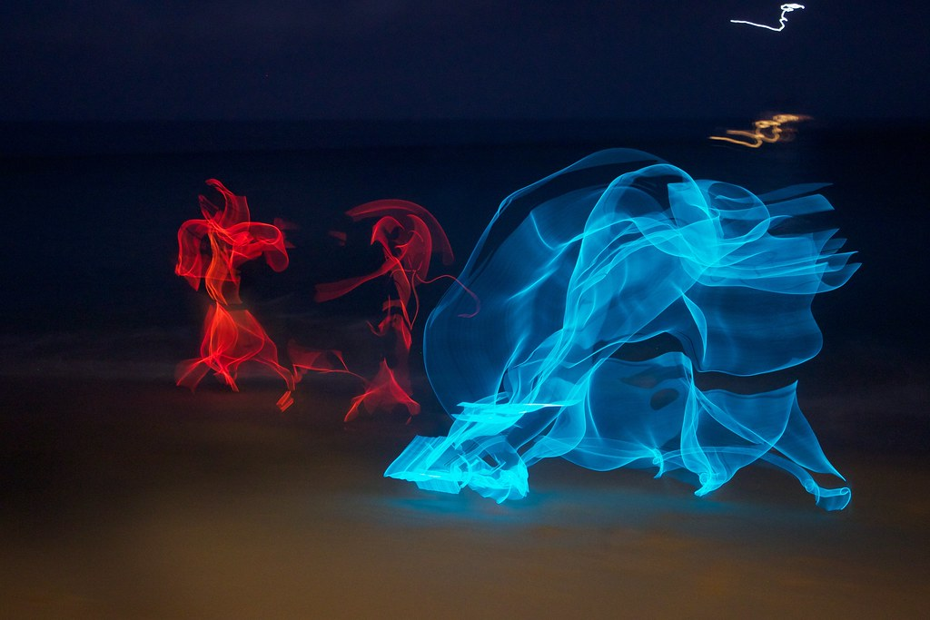 Glow Wire Ghost (This one is really cool) | My good friend R… | Flickr