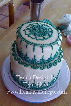 Henna Design On Cakes And Things Flickr