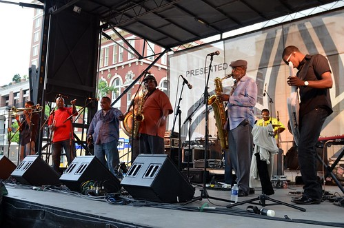 The Dirty Dozen Brass Band at Wednesday at the Square, May 16, 2012 | by Offbeat Magazine