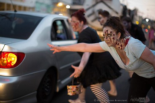 Spring Time Zombie Pub Crawl, May 19, 2012 | by Offbeat Magazine