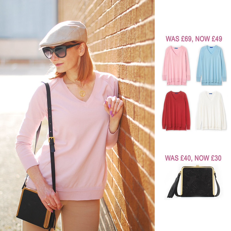 Summer Sales Picks SS16 - Winser London cotton sweater, Zara cross body bag | Not Dressed As Lamb