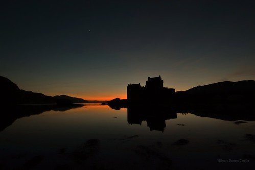 Eilean Donan Castle and Venus, Scottish Highlands | by Michael Carver Photography