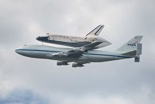 Space Shuttle Discovery Flyover | by spinfly