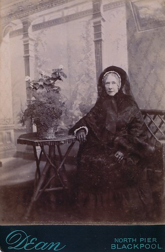 Blackpool Widow, English Albumen Cabinet Card, Circa 1880 | by lisby1