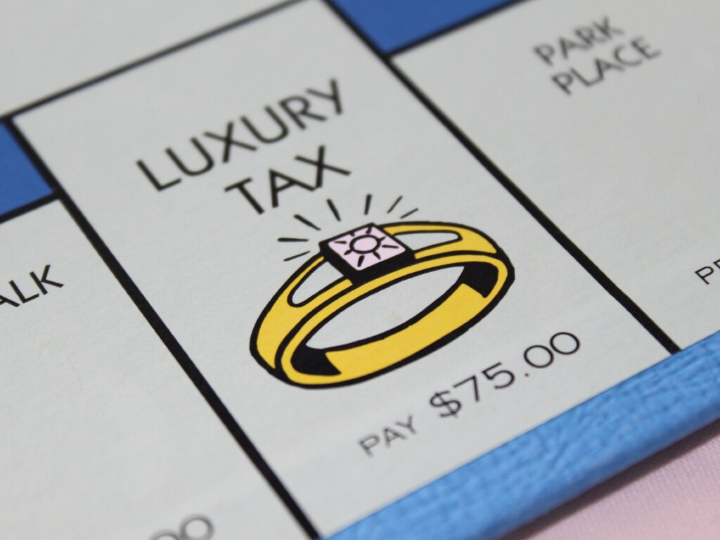Image result for monopoly luxury tax
