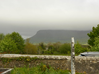 view of Benbulben from the cemetery | by tammybeck