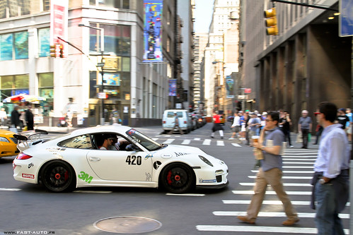 Porsche 997 GT3 RS mkII - NYC !! | by Fast-Auto.fr
