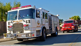 CNT Fire Engine 13 & Calfire SCU Engine 1671 | by YFD