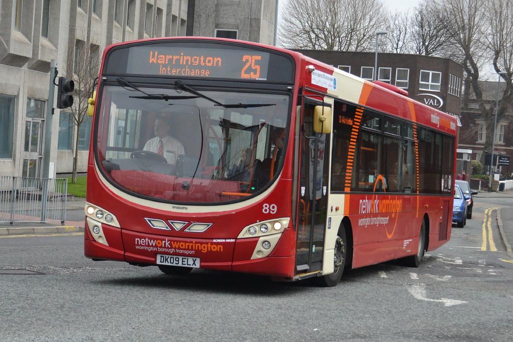 Network Warrington Volvo B7RLE 89.DK09ELX - Warrington | Flickr