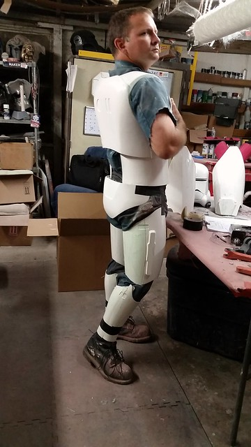 White Armor Test Fit
