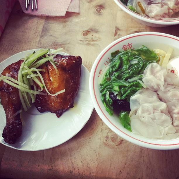 百葉溫州大餛飩:周杰倫套餐