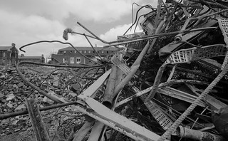 St Mary's Hospital, Portsmouth - Demolition | by Claire_Sambrook