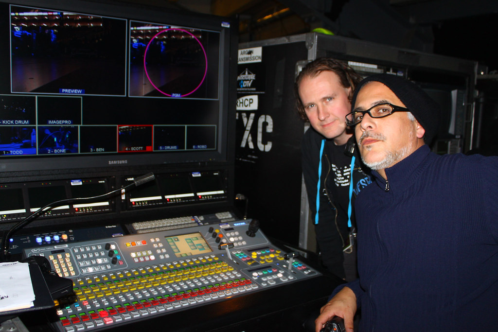 Graham Holwill Video Engineer and George Elizondo Video Di… | Flickr