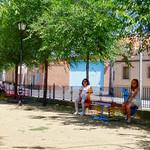 Nuevo mobiliario en los parques infantiles