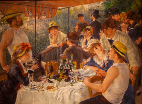 Renoir's Luncheon of the Boating Party | by Alaskan Dude