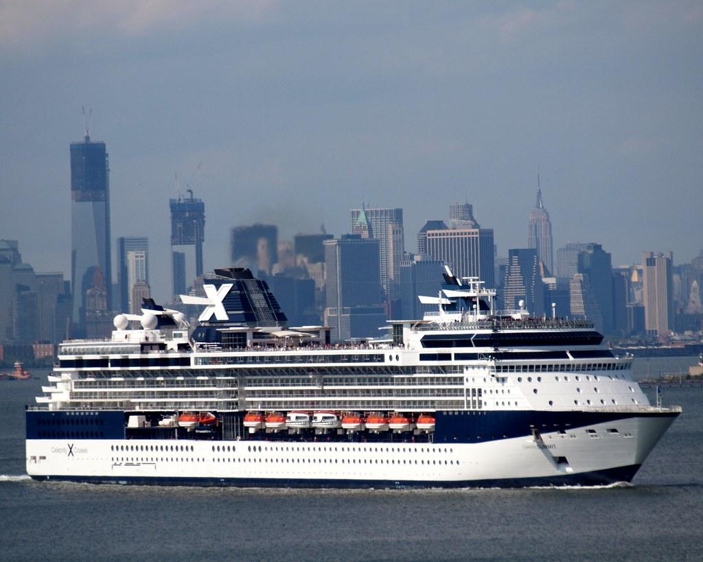 CELEBRITY SUMMIT Cruise Ship New York Harbor Lower Manhat Flickr - Summit cruise ship