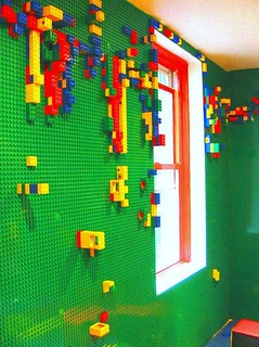 LEGO Wall | by Heath & the B.L.T. boys