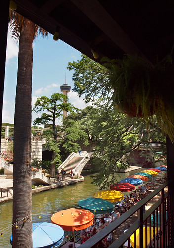 San Antonio River Umbrellas | by Howdy, I'm H. Michael Karshis