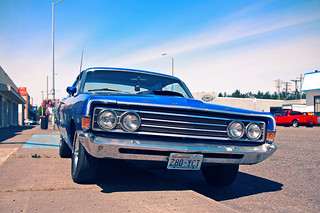 Fairlane blue | by Vorona Photography