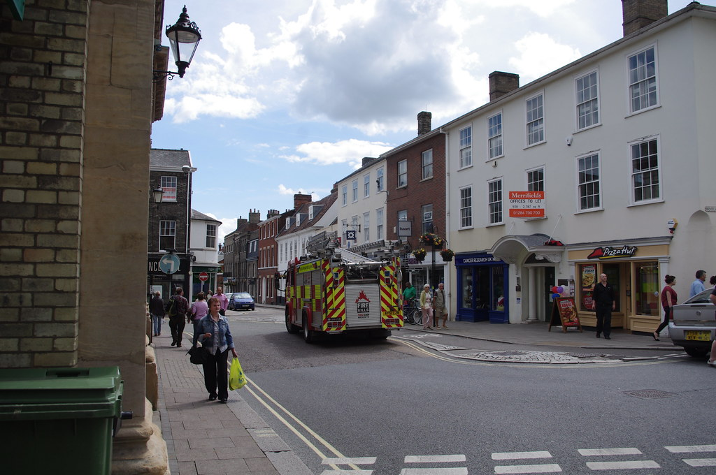 Fire At The Cupola House Strada Restaurant Bury St Edmunds