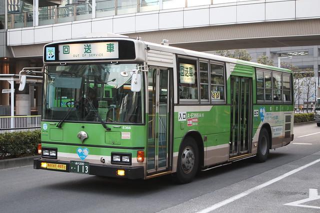 2013/01/21 東京都交通局 E366