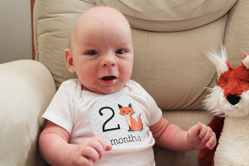 Jonathan is 2 Months Old!