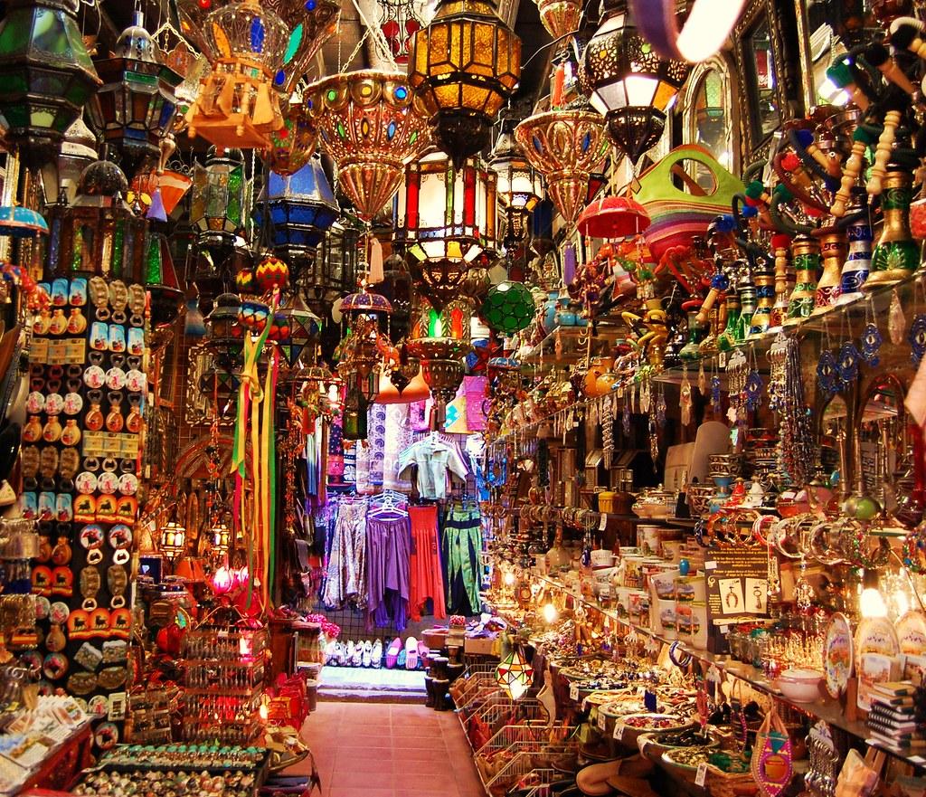 Tienda de la Alcaiceria (Granada)