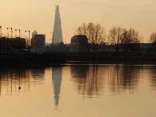 The Shard Reflected | by failing_angel