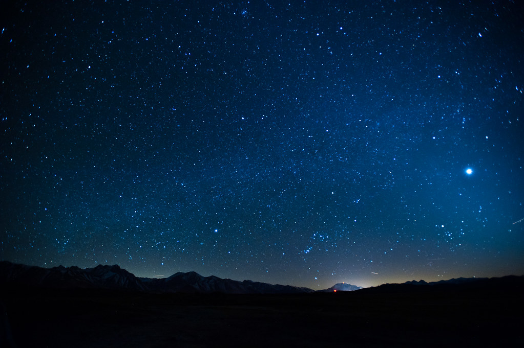 Venus and the night sky over mammoth i never want to live flickr venus and the night sky over mammoth by john lemieux thecheapjerseys Image collections