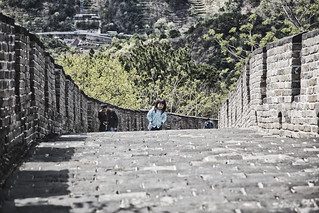 Climbing the Great Wall of China at Mutianyu | by wsquared photography