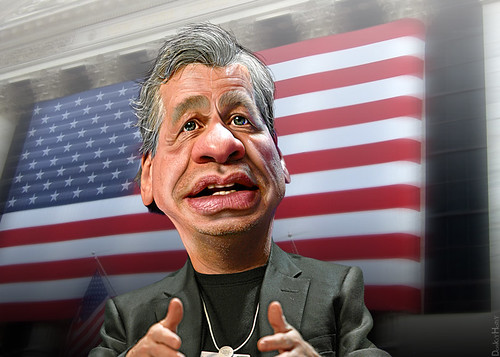 Jamie Dimon - Caricature | by DonkeyHotey